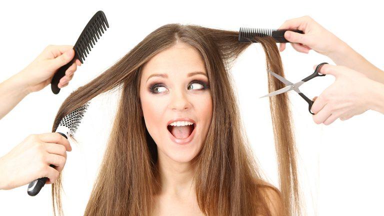Услуги дамского парикмахера - стилиста