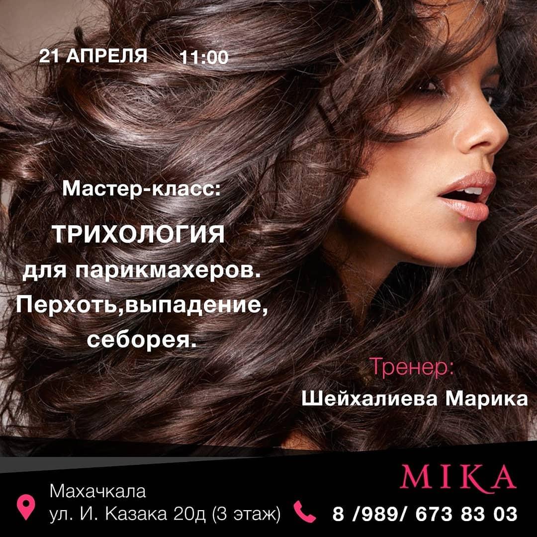 Мастер-класс «Трихология для парикмахеров. Перхоть, выподение, себорея»