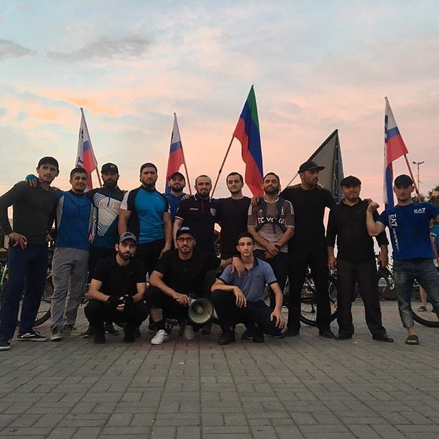 Велопробег в Каспийске