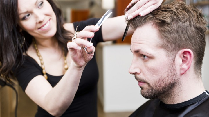 Мужской парикмахер - стилист